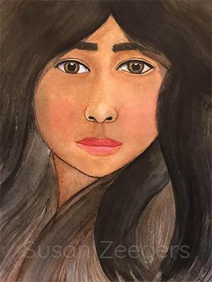 Portret Maia